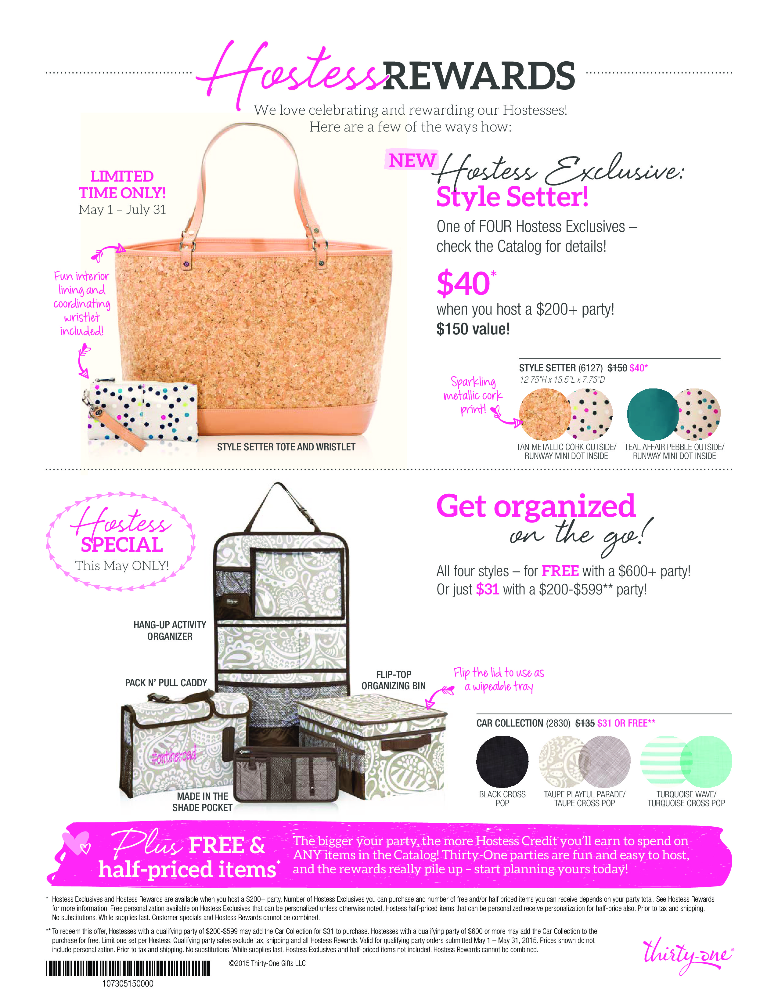 Thirty one november customer special 2014 -  4 May 1st 31st Is An Amazing Customer Special With Thirty One Which A Great Start For You