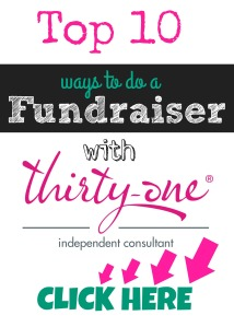 fundraiser, thirty-one, thirty-one gifts, find a fundraiser