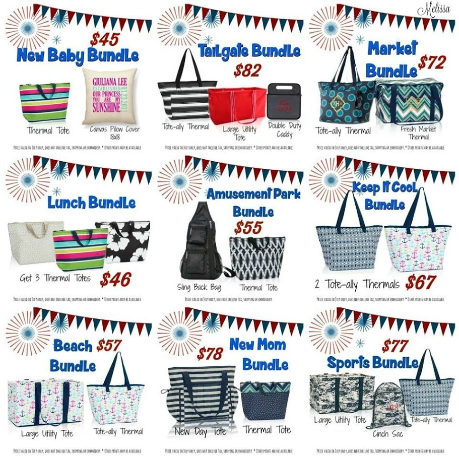 Thirty-One Gifts, July customer special