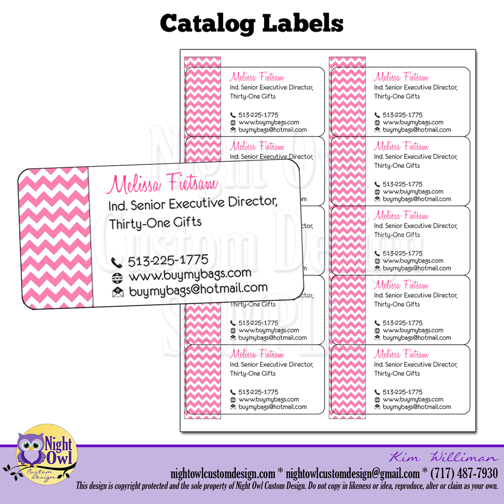 Thirty One Labels Wwwimagessurecom