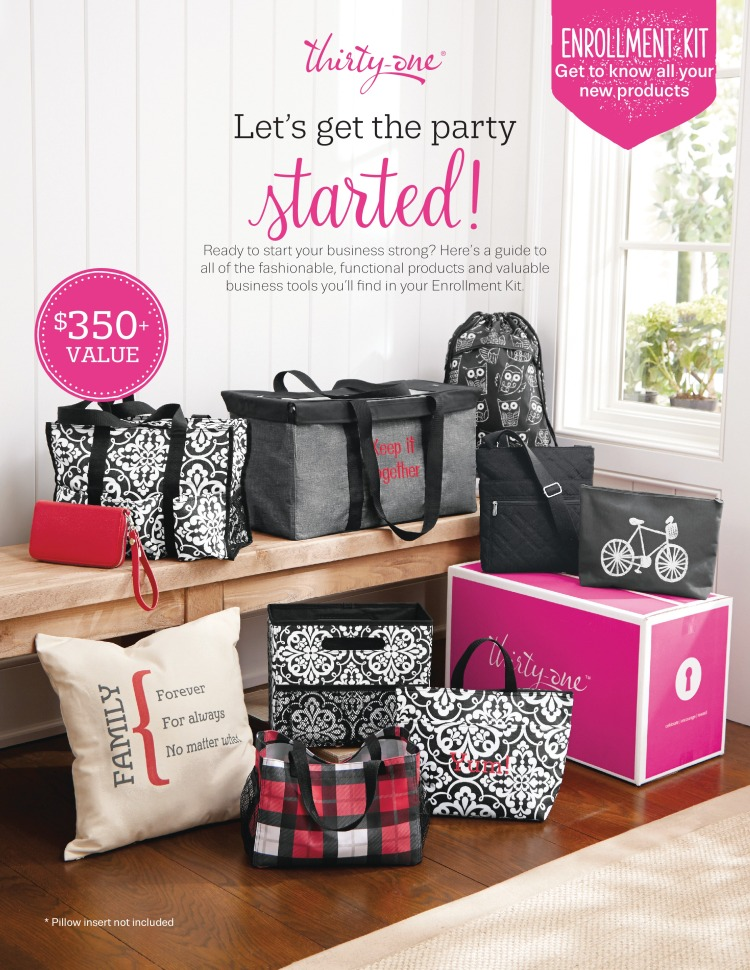 Thirty-One fall 2016 enrollment kit