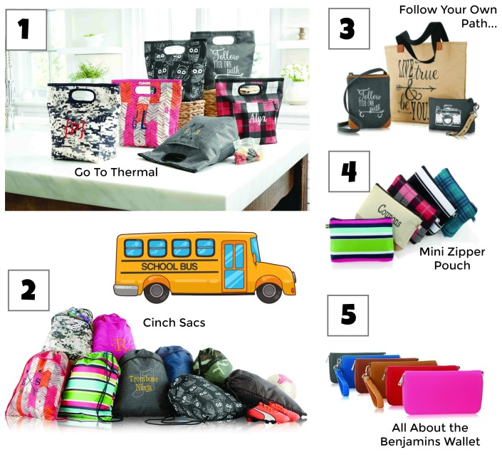 Thirty-One Gifts, back to school