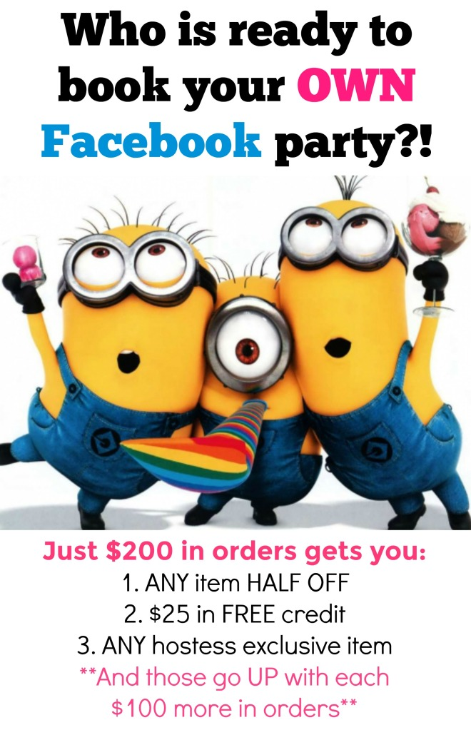 facebook party, thirty-one, thirty one, join thirty one