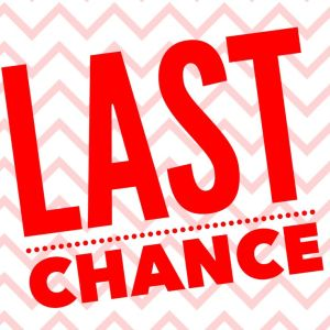 Last chance to order, thirty-one
