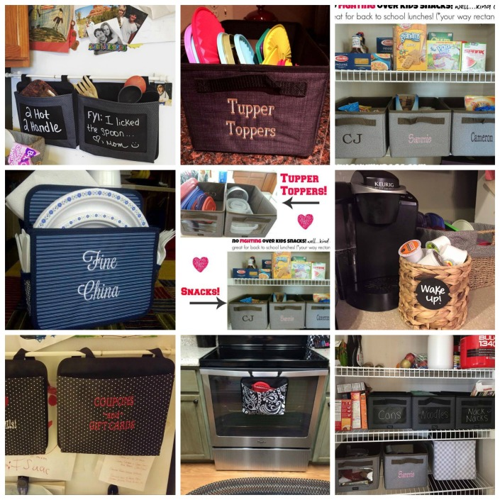 kitchen organization, thirty-one