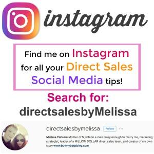 instagram tips, direct sales