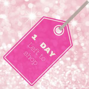 one day left to shop, thirty-one gifts
