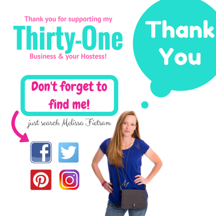 thank you, thirty-one gifts, find a consultant
