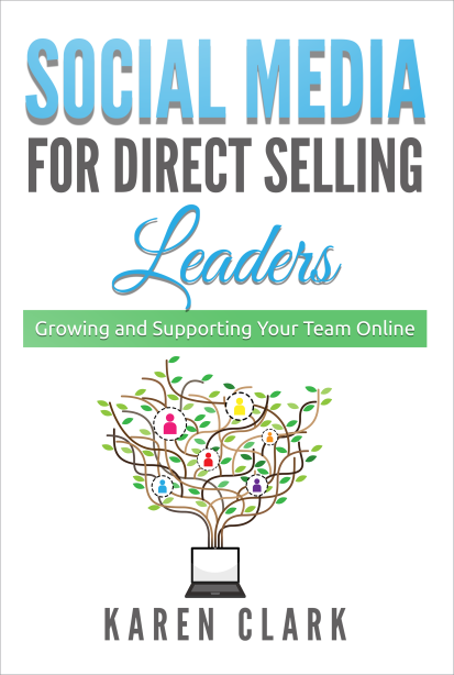 Karen Clark, social media, social media for direct selling leaders book, thirty-one gifts