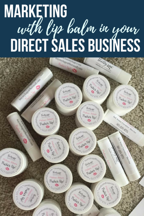 chapstick for marketing in your direct sales business