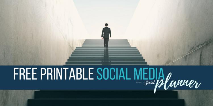free social media planner printable