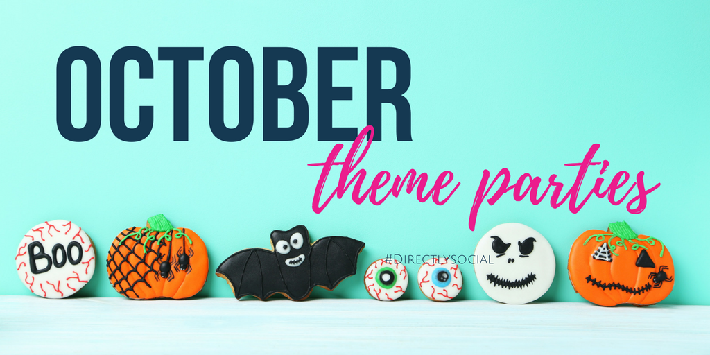 October theme parties